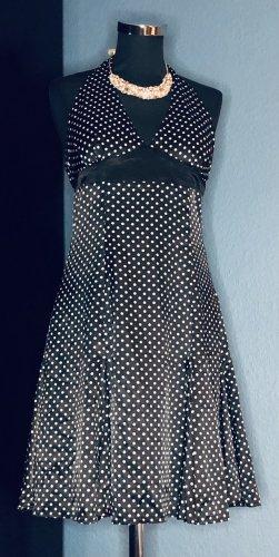 "Marilyn  ""Halterneck"" Spots Kleid"