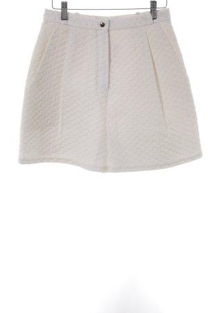 Marina Hoermanseder High-Waist-Shorts weiß Casual-Look