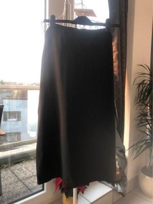Marina Rinaldi Zijden rok zwart Zijde