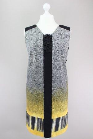 Marina Rinaldi Kleid mit Muster schwarz Größe XL 1709180591247