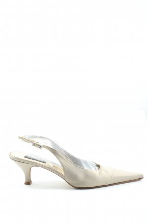 Marina Rinaldi Slingback Pumps natural white elegant