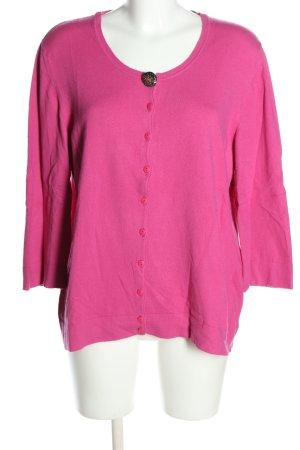 Marina Rinaldi Cardigan pink casual look