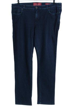 Marina Sport Straight-Leg Jeans blau Casual-Look