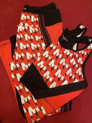 Marina Sport Débardeur de sport rouge-noir