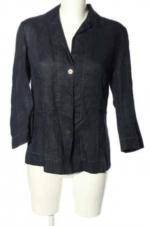 Marina Yachting Linen Blouse blue casual look