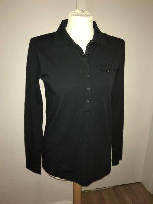 Marina Yachting Shirt M Poloshirt schwarz neu langarm