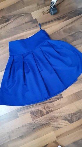 Spódnica w kształcie tulipana niebieski-niebieski neonowy