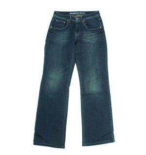 MARINE BLEU Jeans dunkelblau Stretch Gr.36