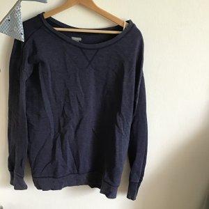 Aerie Kraagloze sweater donkerblauw