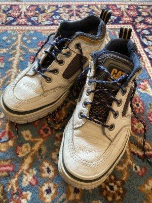 Caterpillar Sailing Shoes white