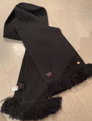 marineblau, dunkelblau  Schal aus Lanawolle