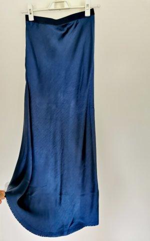 Vintage Jupe tulipe bleu