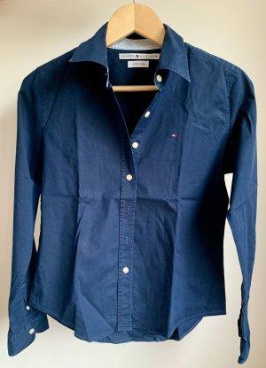 Marineblaue Bluse von Tommy Hilfiger