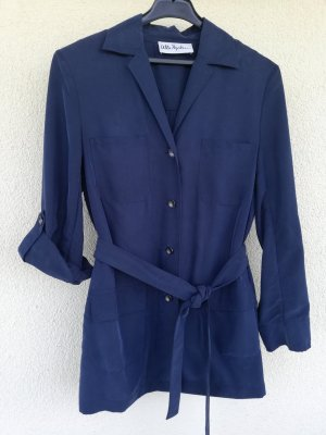 Ulla Popken Blouse Jacket dark blue