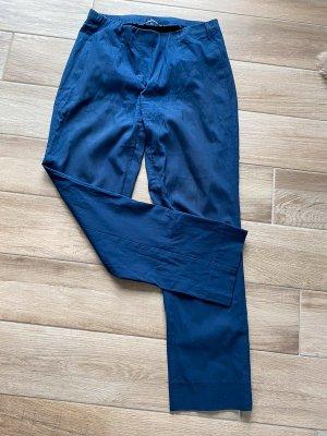 Marineblaue Stoffhose / Chino von Krines Berlin, Gr. 40