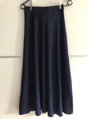 Mint&berry Falda larga azul oscuro