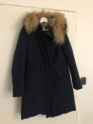 Blauer USA Płaszcz zimowy stalowy niebieski