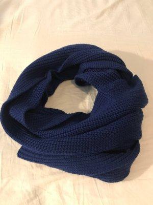 Petit bateau Écharpe en tricot bleu-bleu fluo coton