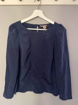 Marineblaues Blusenshirt / Bluse von H&M, Gr. 34