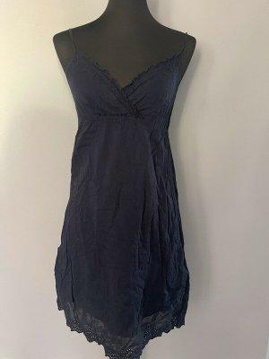 Marineblaues Kleid / Sommerkleid von Mango, Gr. S