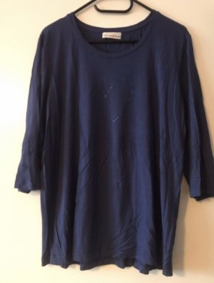 Helena Vera Long Shirt dark blue textile fiber