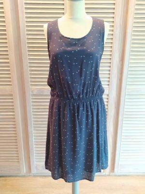 Opus Summer Dress dark blue viscose