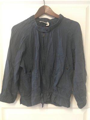 Isabel Marant Étoile Blouson dark blue linen