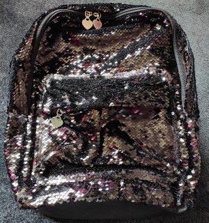 Marines Original Rucksack, Pailletten schwarz, NEU