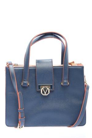 Mario Valentino Handtasche blau Business-Look