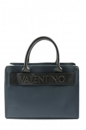 Mario Valentino Henkeltasche blau Business-Look