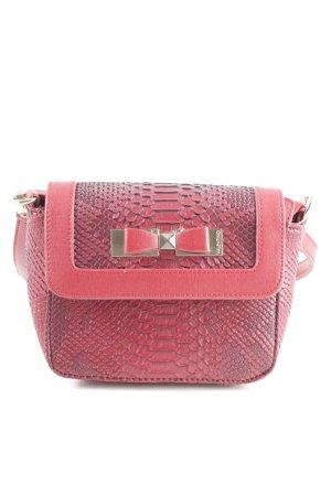 Mario Valentino Mini Bag red animal pattern casual look