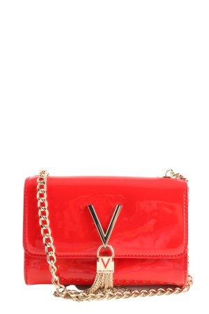 Mario Valentino Minitasche rot Motivdruck Business-Look
