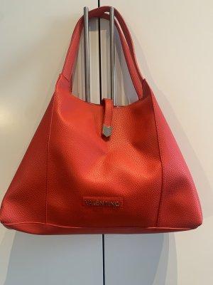 Mario Valentino Shopper rood-zilver