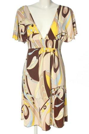 Marion Kleinert Vestido elástico estampado con diseño abstracto look casual
