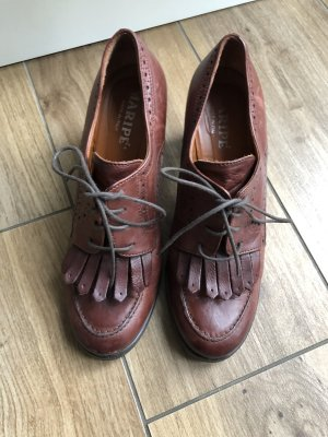 Maripé Wingtip Shoes brown leather
