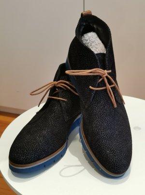 Maripé Chelsea laarzen donkerblauw-korenblauw