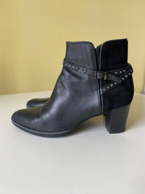 Maripé Zipper Booties black