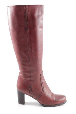 Maripé High Heel Stiefel rot Casual-Look