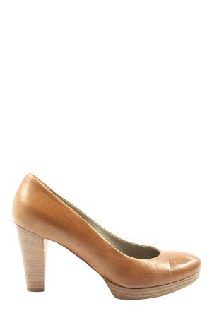 Maripé High Heels braun Business-Look