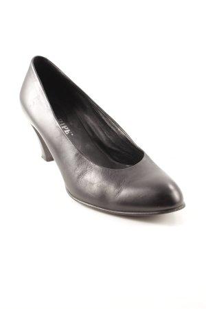 Maripé High Heels schwarz klassischer Stil