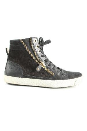 Maripé High Top Sneaker schwarz Casual-Look