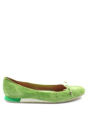 Maripé Klassische Ballerinas grün Casual-Look