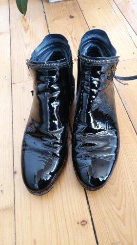 Maripé Botas bajas negro