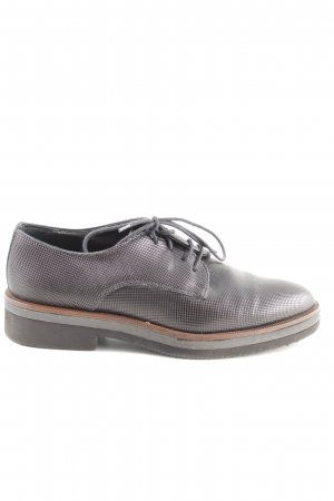 Maripé Oxfords black-brown business style