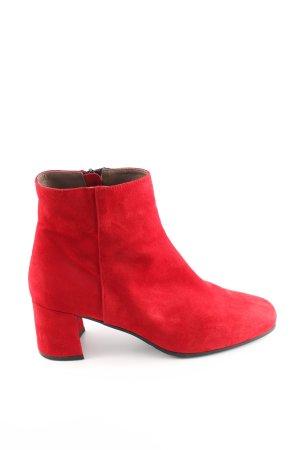 Maripé Reißverschluss-Stiefeletten rot Casual-Look