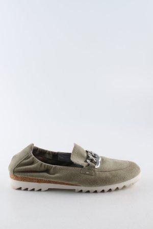 Maripé Pantoffels khaki casual uitstraling