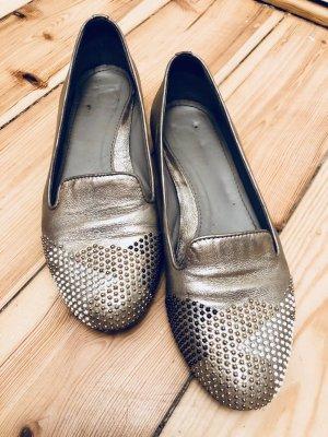 Maripé Slipper in metallic