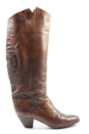 Maripé Buty w stylu western brązowy W stylu casual