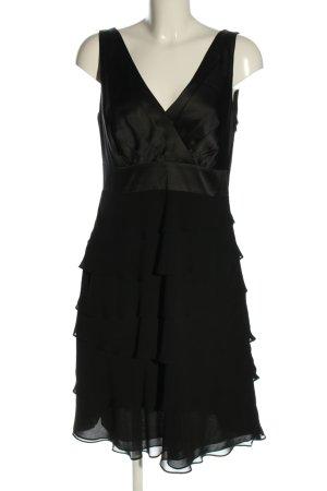 Mariposa Abendkleid schwarz Casual-Look