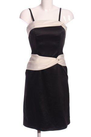 Mariposa Abendkleid schwarz-wollweiß Elegant